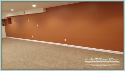 AFTER - Carpet and Accent Wall