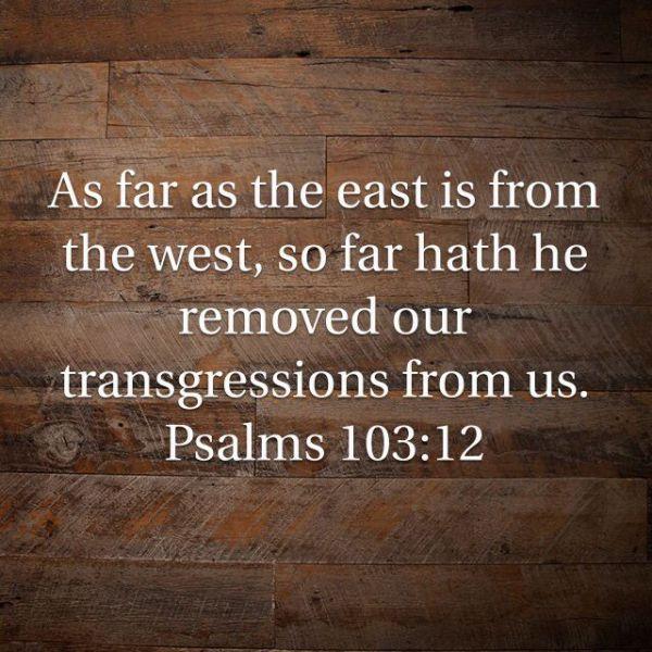 Forgive Yourself, God Has