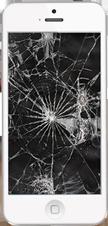 broken iphone, broken ipad