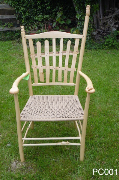 rustic ash chairs carved picket fence armchair, bodgers ball prize winner 2016