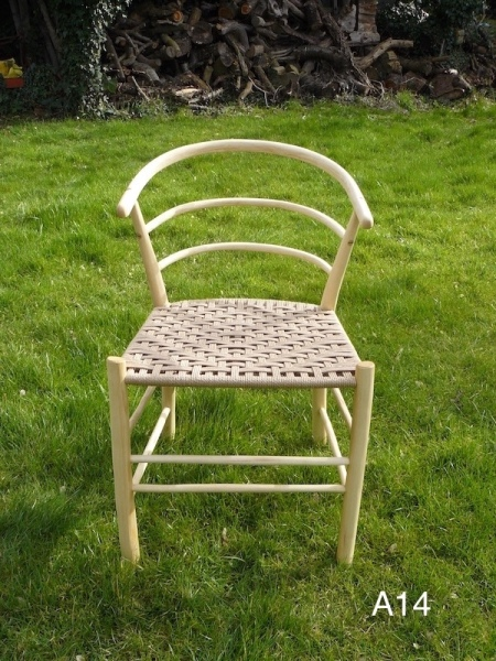 rustic ash chairs, beehive wood hooped back chair, Hans Wegner chair designer