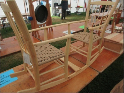 first place bodgers ball 2016, double rocking chair wooden seesaw, mark griffin