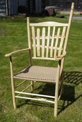rustic ash chairs prize winning picket fence chair at bodgers ball 2016