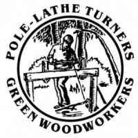association of pole-lathe turners and green woodworkers logo