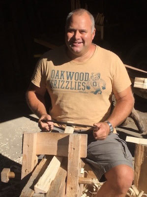 mark griffin director of rustic ash chairs