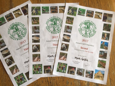 bodgers ball 2017 winning certificates