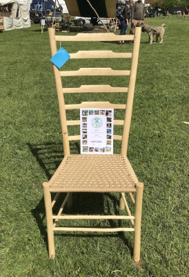 lath back chair bodgers ball 2018