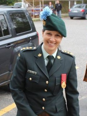Captain Tammy Valtonen, CD