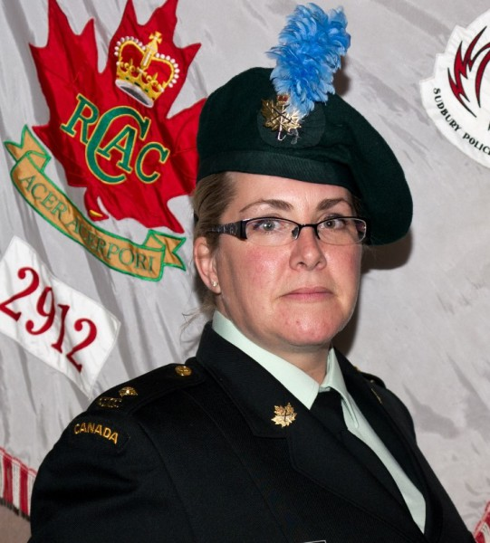 Second Lieutenant Tracy Lamirande