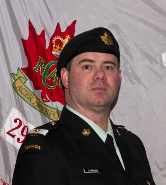 Officer Cadet Jason Carriere