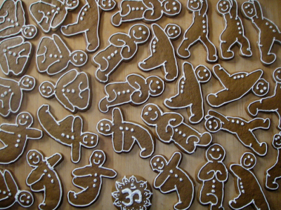 Yoga in the Kitchen - Gingerbread Yogis