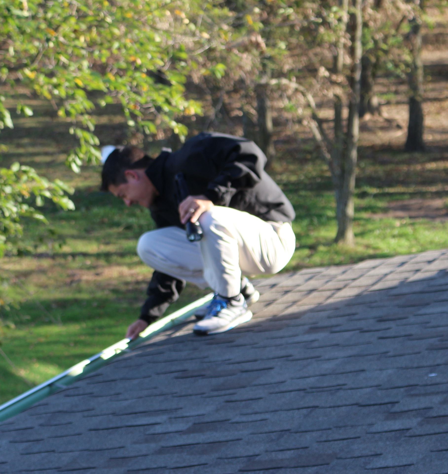 Roof / Checking for proper Guttering and Drainage
