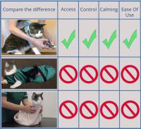 Compare cat restraints