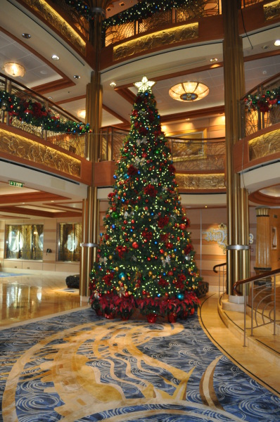 Christmas on Disney Cruise Line