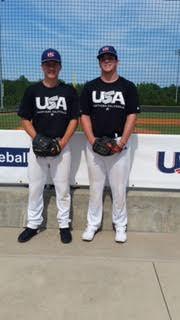 Lukas Bolen C/O 2016 and Jacob Gilbreath C/O 2017 represent Northern California in Cary, NC