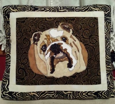 Bulldog Custom Pillow