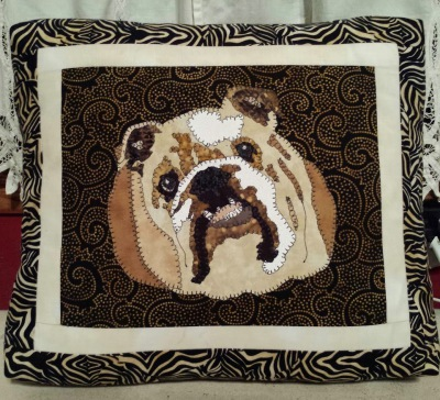 Bulldog Custom Pillow