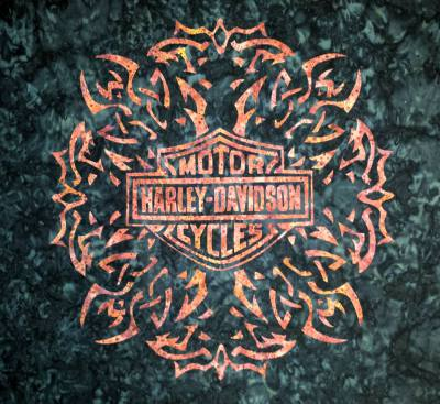 Harley Davidson HD wall hanging or pillow