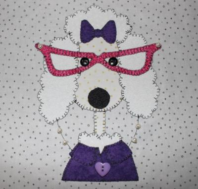 51 - Ant Pauline Poodle with glasses