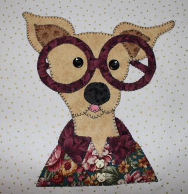 52 - Unca Otto Chihuahua with glasses