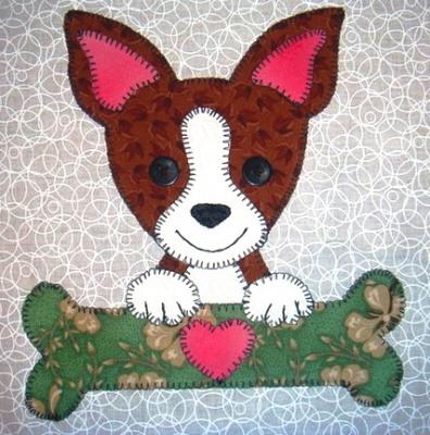 49 - Chihuahua with bone