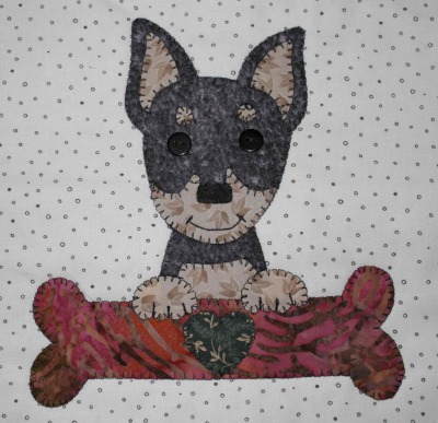 16 - Minpin with bone