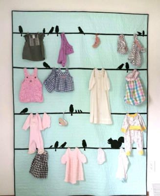 Baby Clothes Wall Hanging