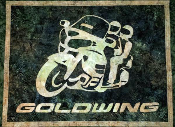 Goldwing Wall Hanging