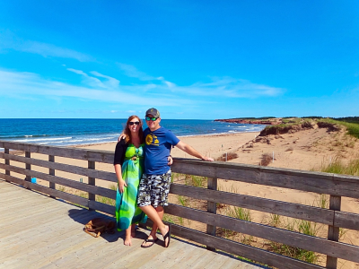 CAVENDISH BEACH, PEI