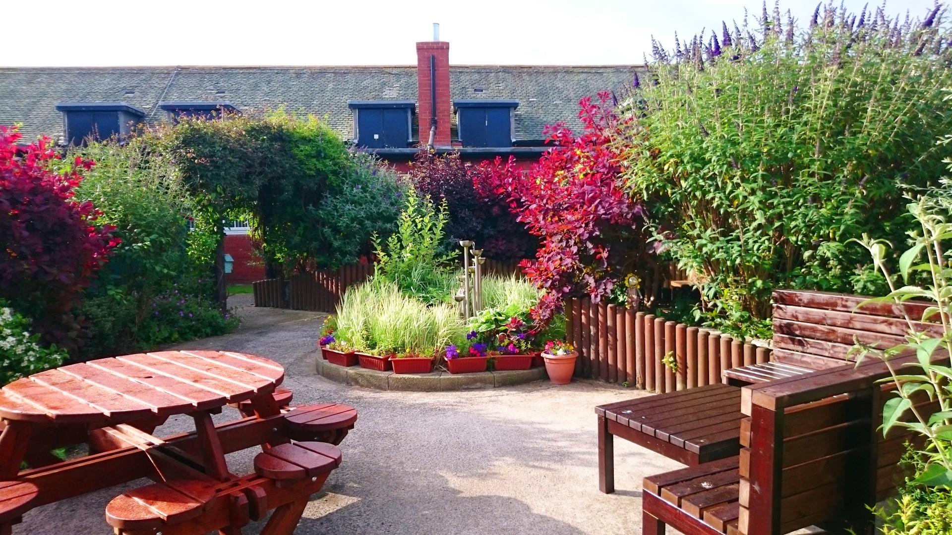 Ashington Children's Centre garden