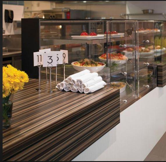 Laminate:  Reception wall inserts Option 2