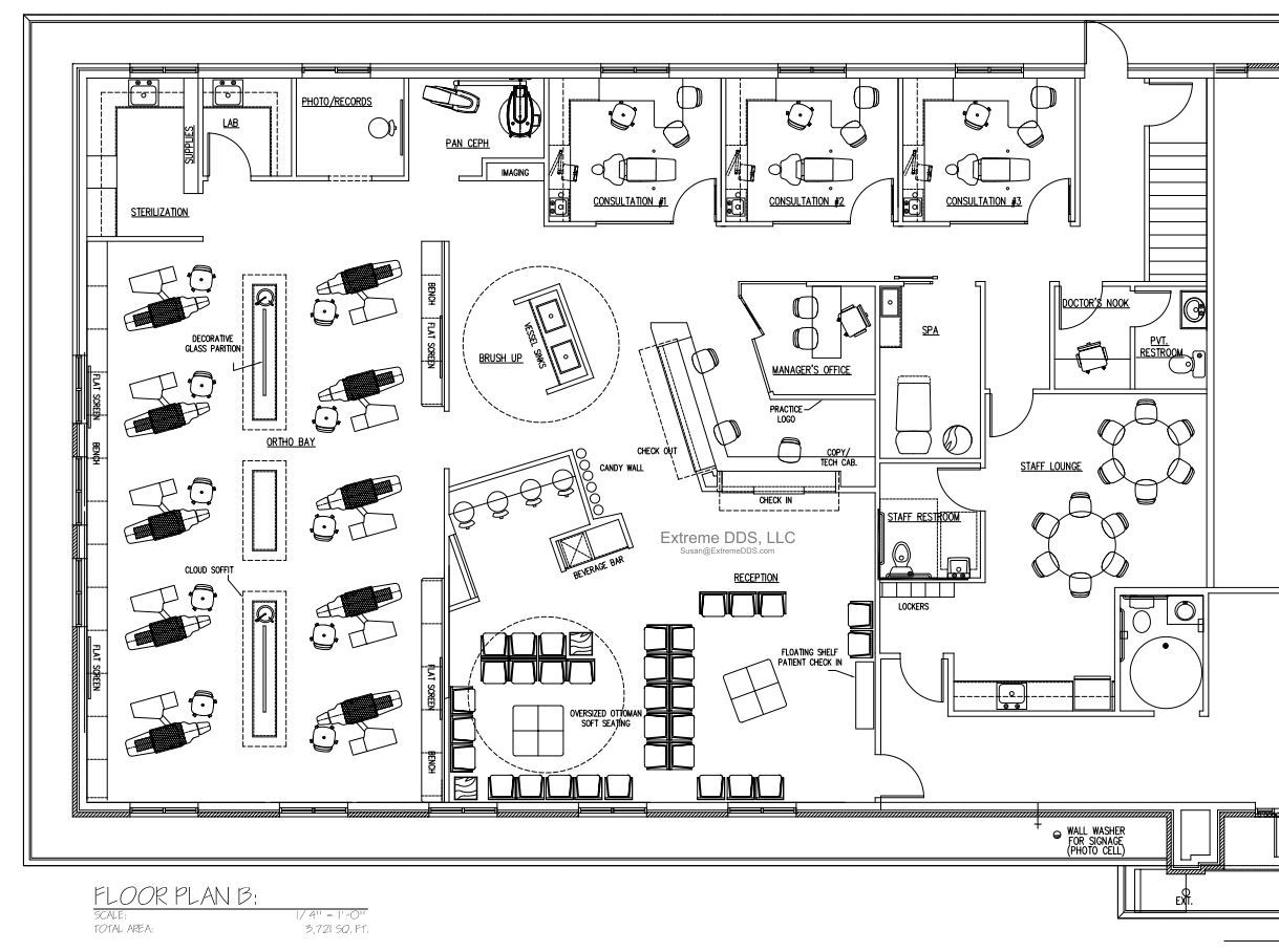 3,721 sq.ft. (Alternate Plan)