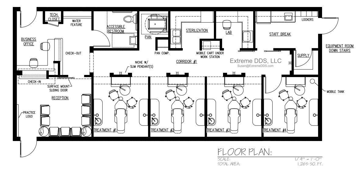 1,265 sq.ft.