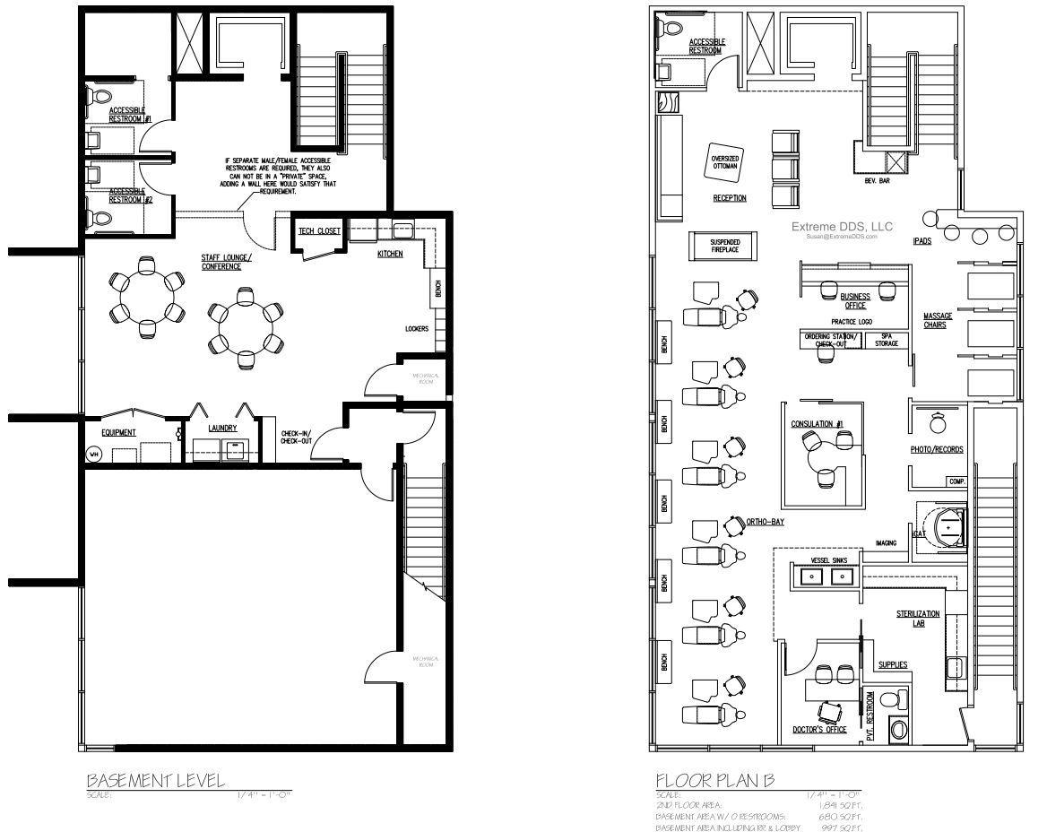 2,521 sq.ft. Cosmetic/Ortho