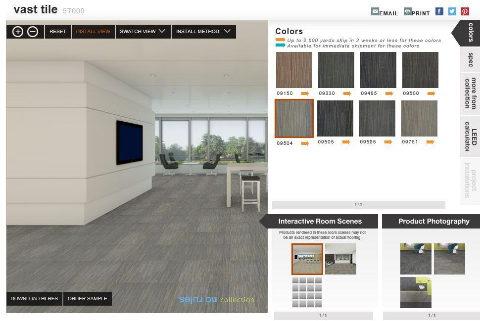 Carpet Tile - Reception/Corridors