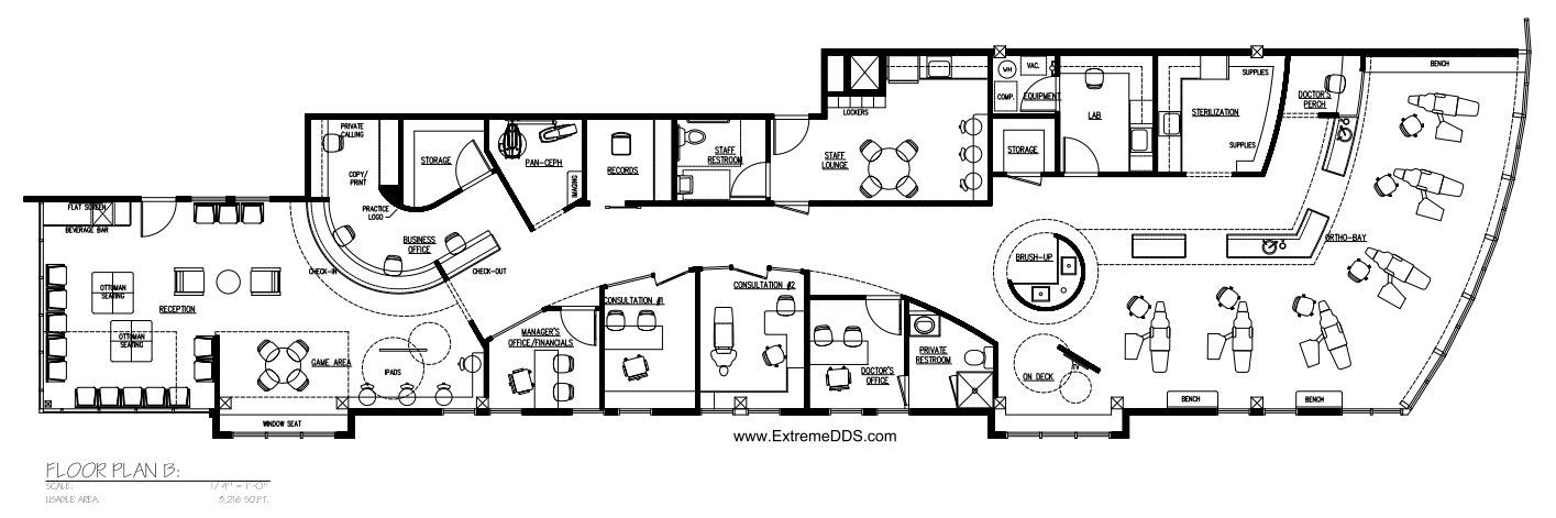 3,216 sq.ft.