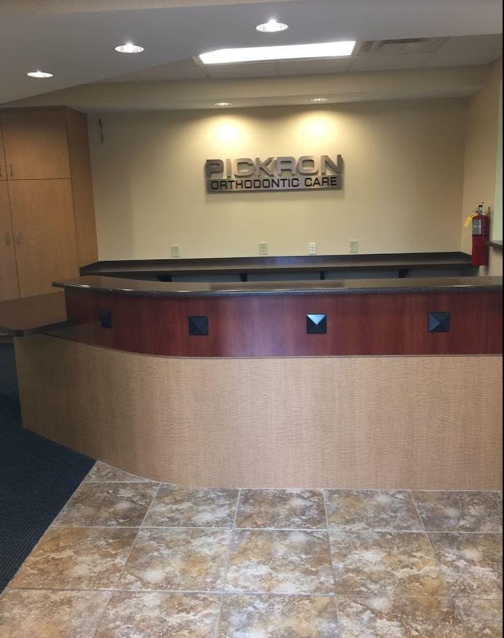 Reception Desk - Before