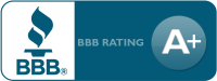 Better Business Bareau A+ Rating