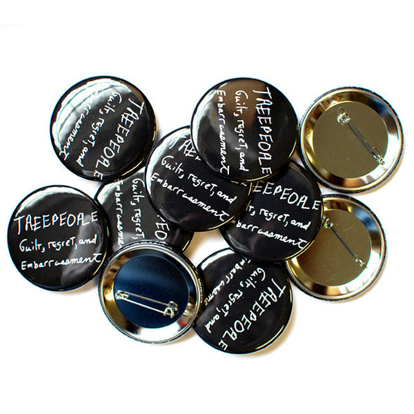 Treepeople Buttons