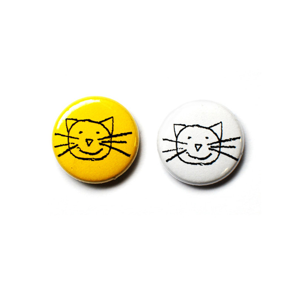 K Classic Cat Buttons