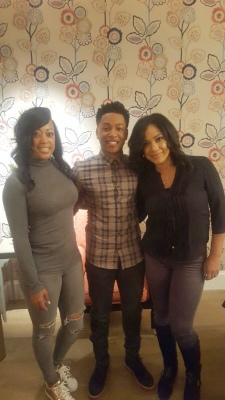 BTS with Jacob Latimore
