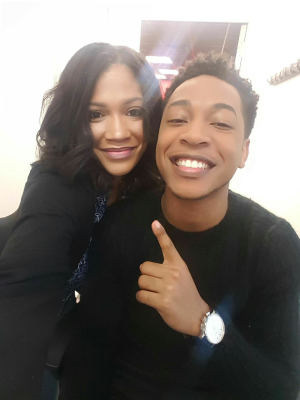 BTS with R&B Singer/Actor, Jacob Latimore