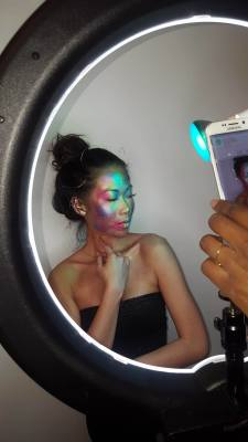 BTS with Photographer Ceres and Model Naevann