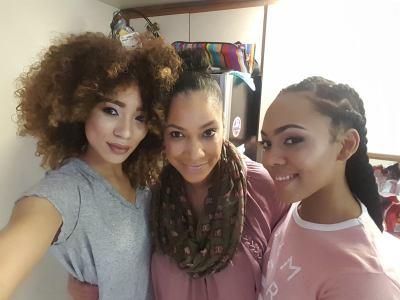 BTS with my Noir Management Girls