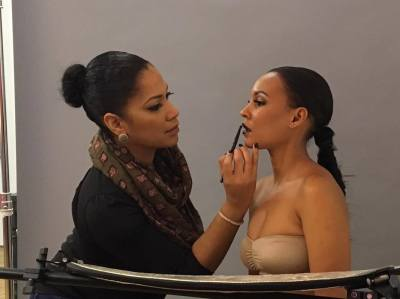 BTS with Model, Patricia
