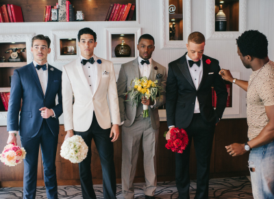 BTS with The Baldwins for Grooms Matter Too
