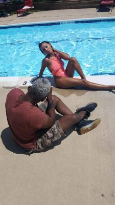 BTS with the great Akbar the Photographer