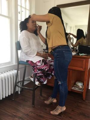 BTS - Enhancing the beauty of Lisa Price of Carol's Daughter