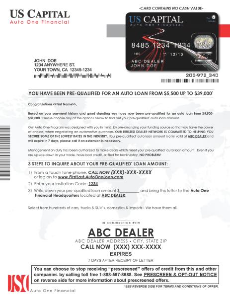 AutoOne Card