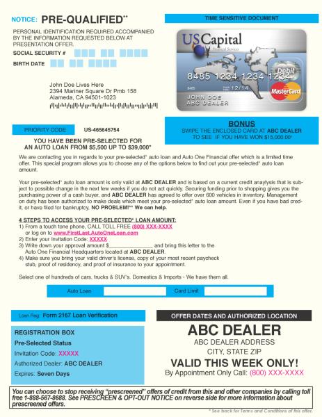 USC MasterCard